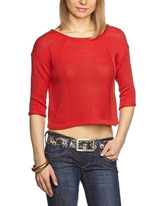 Turnover Pullover (Rosso)