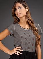 Ikks Camiseta Estrellas (Negro Lavado)