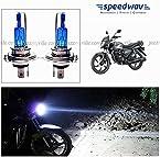 Speedwav Xenon H4 CYT Pure White Bulbs For Honda CB Shine
