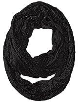 RAMPAGE Women's Lurex Lace Infinity Loop Scarf