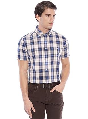 Hackett Camicia Quadri (Blu/Beige)