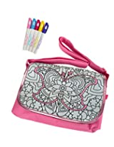 Simba Color Me Mine Diamond Party Courier, Pink