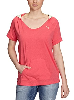 PUMA Top Lightweight SS Coverup (rouge red)