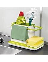 CONNECTWIDE®Creative Hanging Storage Drain Suction Basket Kitchenaid Tools Gadget Rack Brush Holder for Sink Organizer