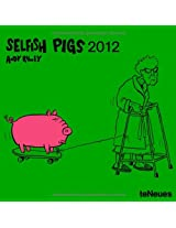 2012 Selfish Pigs Mini Grid Calendar