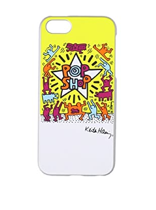 Keith Haring Collection Bezel Case for iPhone 5 with Earphones POP SHOP/Yellow