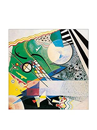 ArtopWeb Panel de Madera Kandinsky Mod. 236 Verde Aperto 1923