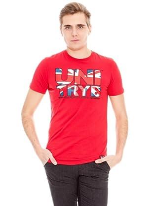 Unitryb Camiseta Manga Corta (Rojo)