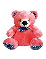 Soft Buddies Chubby Bear Car Rear Tray Toy, Pink (18-inch)