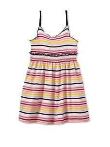 Sonia Rykiel Girl's Striped Tank Dress (Black/Multi)