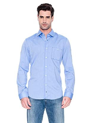 Hugo Boss Camisa Marcos (Azul Oscuro)