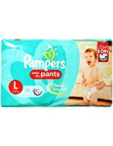 Pampers Pant Diapers Light And Dry Large 52 Pieces (9 to 14 kg)