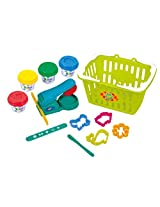 PlayGo Dough Playset in Basket Dough
