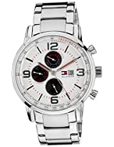 Tommy Hilfiger Chronograph White Dial Men's Watch - TH1710338J