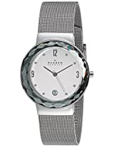 Skagen Leonora Analog Silver Dial Women's Watch - SKW2004I