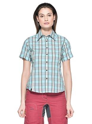 Salewa Camisa Hanne Dry W (Turquesa)