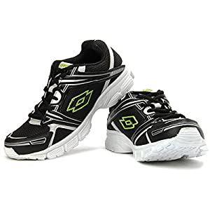 Lotto Zion Running Shoes in Black and White