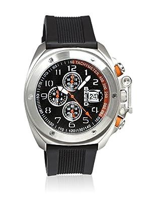 Breed Reloj con movimiento cuarzo japonés Brd4602 Negro 45  mm