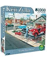 Karmin International Ken Zylla A Little Boys Dream Puzzle (1000-Piece)