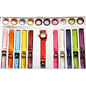 11 in 1 changeable ladies watch set
