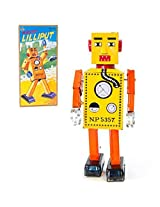 Vintage Style Large Wind Up Robot Lilliput Off The Wall Toys