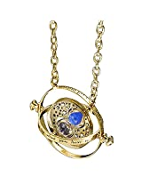 Accessorisingg HP Gold Time Turner Pendant with Blue Sand [PD079]