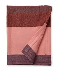 emma at home Baby Alpaca Throw Blanket (Sunset on Mars)