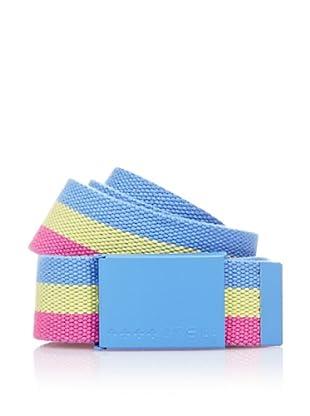 O´Neill Gürtel Ac Squeaky Web (blau/gelb/rosa)