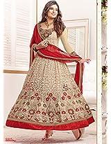 Sayali Bhagat Georgette Semi Stitched Anarkali Suit