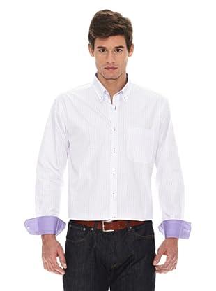 Turrau Camisa Cuadro Ventana (Lila)