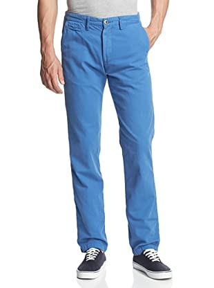 Original Paperbacks Men's Bayside Canvas Flat Front Pant (Cobalt)