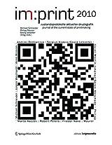 Imprint 2010: Zustandsprotokolle Aktueller Druckgrafik / Journal for the State of Current Printmaking (Edition Angewandte)