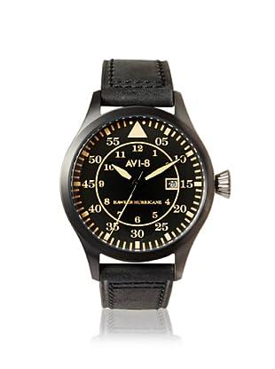 AVI-8 Men's 4012-04 Hawker Hurricane Black Stainless Steel Watch