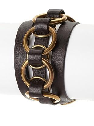 Gucci Interlocking Rings Wrap Cuff