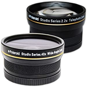 PLR Studio Series .43x High Definition Wide Angle Lens With Macro Attachment PLKIT58WT-1989
