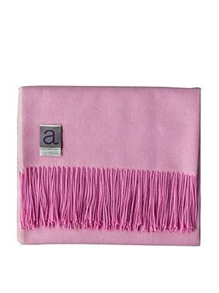 Alicia Adams Alpaca Maya Alpaca-Blend Throw, Pink, 51