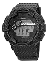 Burgmeister Men's BM803-622 Digital Display Quartz Black Watch