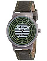MTV Analog Green Dial Men's Watch - B7019GE