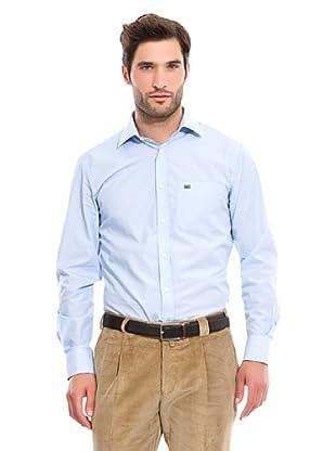Pedro del Hierro Camisa Vestir Bolsillo (Azul)