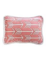New Arrivals Wonderlust Accent Pillow, Coral