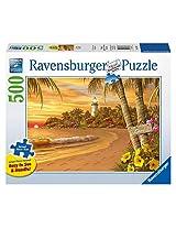 Ravensburger Tropical Love Large Format Puzzle (500-Piece)