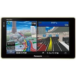 【クリックで詳細表示】Panasonic Gorilla SSDポータブルカーナビステーション 7v型 16GB SSD CN-SP720VL: 家電・カメラ