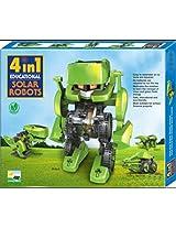 4 in 1 Educational Solar Robots