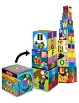 Alphabet Nesting & Stacking Blocks 10-Piece Play Set