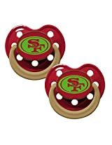 Baby Fanatic Pacifier Glow In The Dark, San Francisco 49ers