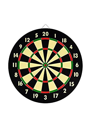 Dart Game Set with 6 Darts & Board, Multi