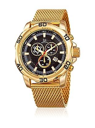 Joshua & Sons Reloj con movimiento cuarzo suizo Man JX123YGB 48 mm