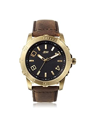 JBW Men's J6281E Brown/Black Stainless Steel Watch