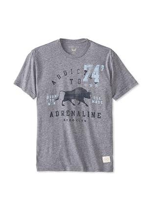 Kinetix Men's Addicted to Adrenaline T-Shirt (Slate)