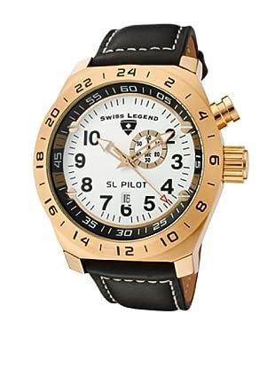 Swiss Legend Reloj Pilot Negro